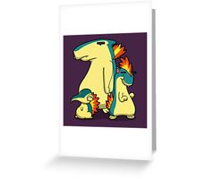 Number 155, 156 and 157 Greeting Card