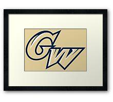 George Washington Colonials Framed Print