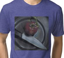 The Fine Art of Vegan Butchery Tri-blend T-Shirt