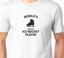 World's Greatest Ice Hockey Player Unisex T-Shirt