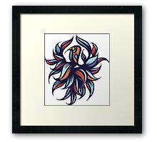 Exotic bird. Framed Print