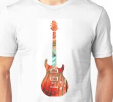 Electric Guitar 2 - Buy Colorful Abstract Musical Instrument Unisex T-Shirt