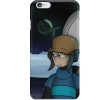 Looking at Space iPhone Case/Skin