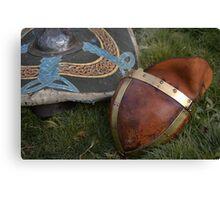 Saxon armour Canvas Print