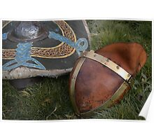 Saxon armour Poster