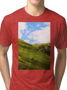 Rolling Greenery  Tri-blend T-Shirt