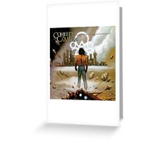 coheed and cambria i'm burning star IV volume 2  no world for tommorow Greeting Card