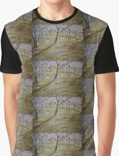 Early morning sun in park Graphic T-Shirt