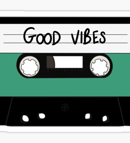 HIPSTER :: GOOD VIBES MUSIC Sticker