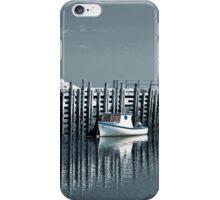 Margaretsville Wharf - selective color iPhone Case/Skin