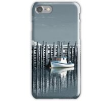 Margaretsville Wharf - selective color iPhone Case/Skin