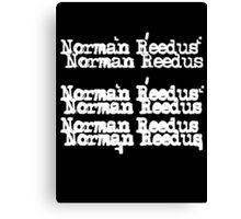 Norman Reedus/Cheap Trick Canvas Print