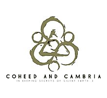 coheed and cambria Devil in Jersey City Photographic Print