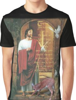 every knee shall bow-Philippians 2:9,10 Graphic T-Shirt
