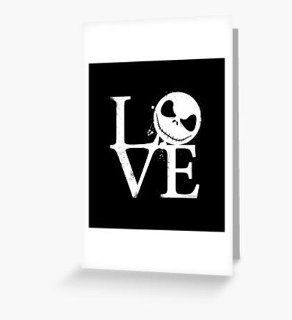 Nightmare Love Greeting Card