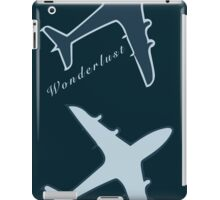 Wonderlust plane iPad Case/Skin