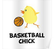 Basketball Chick Poster