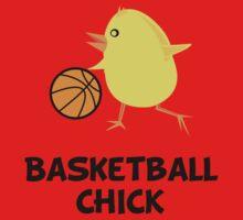 Basketball Chick Kids Tee