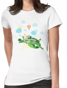Eco Life Womens Fitted T-Shirt