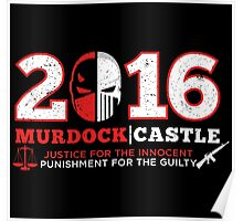 JUSTICE & PUNISHMENT 2016 Poster