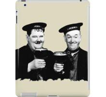 LAUREL & HARDY beer iPad Case/Skin
