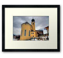 Saalbach, Austria Framed Print