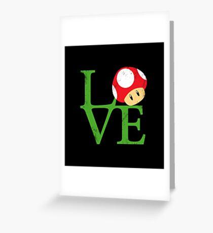 Mario Love Greeting Card