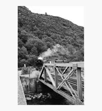 Incoming Train Photographic Print