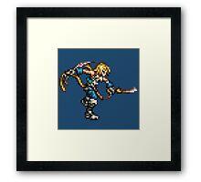 FFRK Boss Sprite - Zidane Tribal (FF9) Framed Print