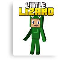 Little Lizard Gaming - Minecraft Youtuber Canvas Print