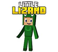 Little Lizard Gaming - Minecraft Youtuber Photographic Print