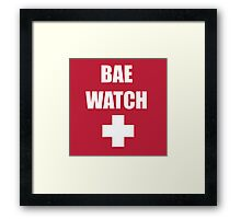 Bae Watch Framed Print