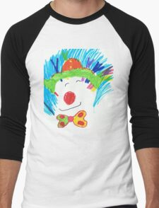 Happy Clown  Men's Baseball ¾ T-Shirt
