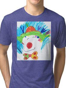 Happy Clown  Tri-blend T-Shirt