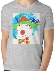 Happy Clown  Mens V-Neck T-Shirt