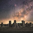 Ancient Neolithic structures - United Kingdom by Steven  Sandner