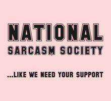 National Sarcasm Society Kids Tee