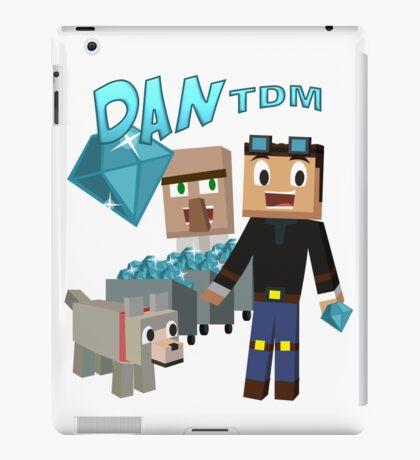 DanTDM The Diamond Minecart - Minecraft Youtuber iPad Case/Skin