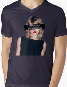 Kanye Famous - TLOP Mens V-Neck T-Shirt