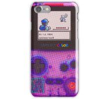 Retro Gameboy Color  iPhone Case/Skin