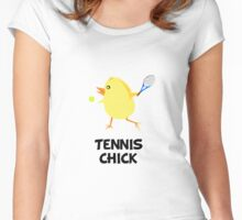 Tennis Chick Women's Fitted Scoop T-Shirt
