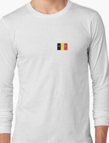 Pray for Belgium Long Sleeve T-Shirt