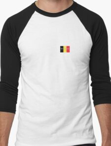 Pray for Belgium Men's Baseball ¾ T-Shirt