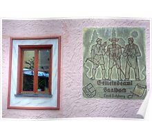 Saalbach, Austria Poster