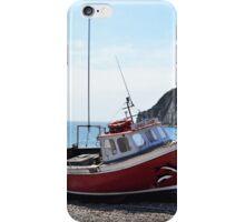 Red Boat (1) iPhone Case/Skin