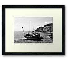 Red Boat (2) Framed Print