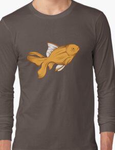 gold fish Long Sleeve T-Shirt