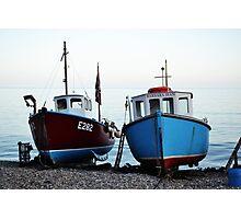 Fisherman's boats (1) Photographic Print