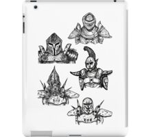 All of the Morrowind Guards iPad Case/Skin