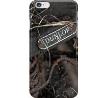 Dunlop seat iPhone Case/Skin